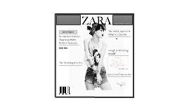 Zara - A Human Resources Perspective