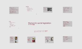Bismarck`s social legislation