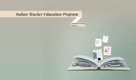 Indian Teacher Education Program