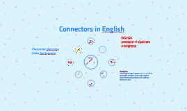Rankings and connectors in English