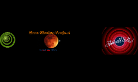 Mars Mission Project