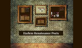 Harlem Renaissance Poets