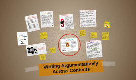 Teaching Students to Write Argumentatively