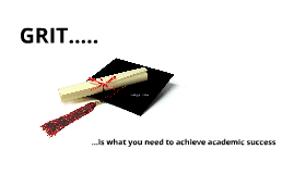 GRIT and Undergraduate Success