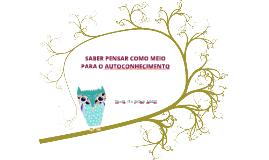 SABER PENSAR E AUTOCONHECIMENTO 16 10
