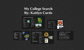 My College Search
