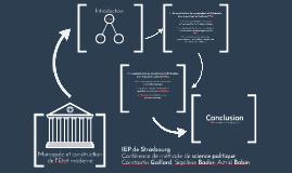 Monopole et construction de l'État moderne