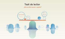 Test de lector
