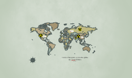 Nuclear Weapons across the globe