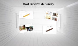 Most creative stationery
