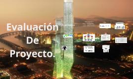 Evaluacion De Proyectos.