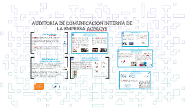 AUDITORÍA DE COMUNICACIÓN INTERNA DE
