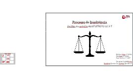 Processo de Insolvência