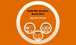 Permian Basin: Awards Presentation