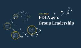 EDLA 490: