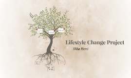 Lifestyle Change Project
