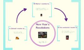 New Resolutions