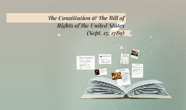 The Constitution & The Bill of Rights of the United States