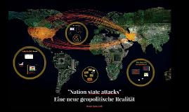 Nation state attacks: Eine neue geopolitische Realität