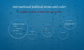 Lesson 7 International political arena