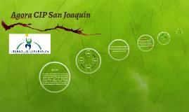 Agora CIP San Joaquín