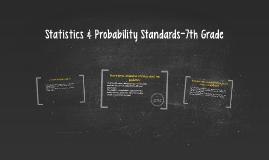 Statistics & Probability-7th Grade