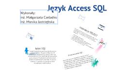 Język Acces SQl