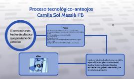 Proceso tecnológico-anteojos