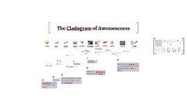 The Cladogram of Awesomeness