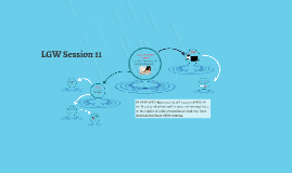 Copy of LGW Session 11 2016