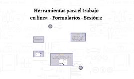 Herramientas para el trabajo colaborativo en línea - Formula
