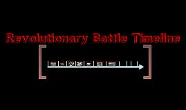 Revolutionary Battle Timeline