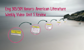 Eng 303/304 Honors: American Literature