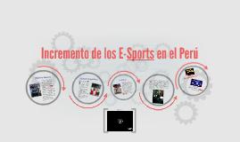 Incremento de los E-Sports en el Perú