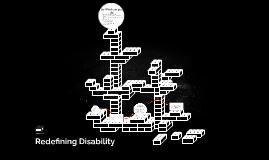 Redefining Disabilities