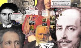 Copy of Épocas representativas de la  literatura universal