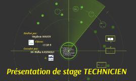 MAHDI Wejdene_Présentation de stage technicien