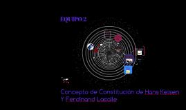 Copy of Concepto de constitución de Hans Kelsen