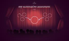 my summative assesment