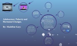 Adolescence: Puberty and Hormonal Changes.
