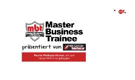 mbt | Master-Business-Trainee | Dein Geschäftsaufbau im Internet
