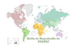 ESTILOS DE NEGOCIACIÓN - BRASIL