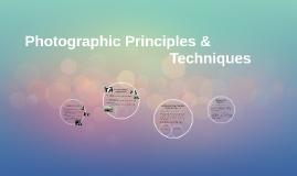 Photographic Principles &