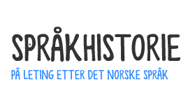 Copy of Språkhistorie