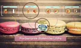 Porównanie dialektów LISPa