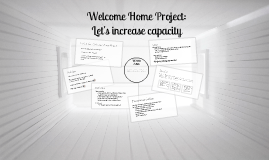 Welcome Home Project Proposal
