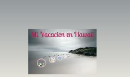 Vacacion en Hawaii