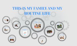 this is my family and my routine life