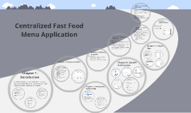 Copy of Centralized Fast Food Menu Application