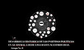 Copy of Copy of DESARROLLO HISTORICO DE LOS PARTIDOS POLITICOS EN  GUATEMALA